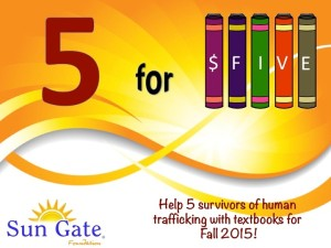 5 for Five Campaign Final