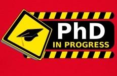 phd-in-progress-T-Shirts