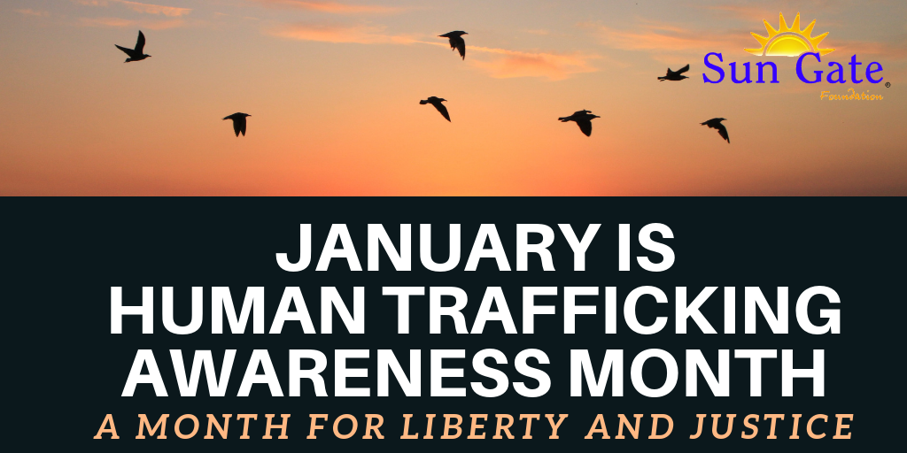 Human Trafficking Month 2019