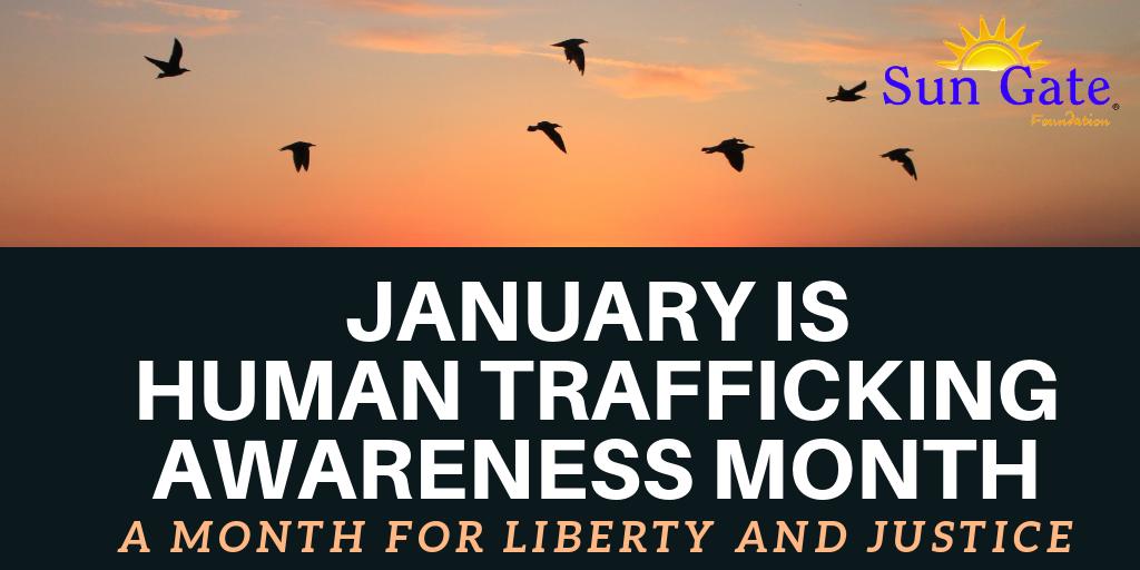 Human Trafficking Month 2019